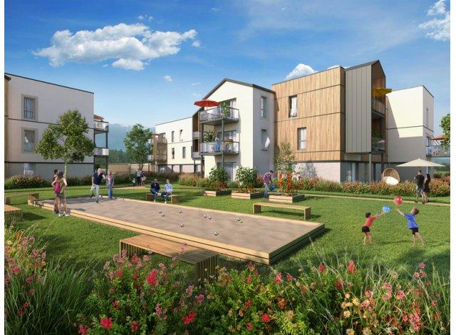 Programme immobilier neuf éco-habitat Résidence Ocarina à Rumilly