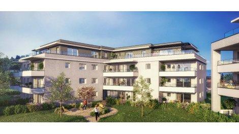 Programme immobilier loi Pinel Résidence le Domaine de Corly à Vétraz-Monthoux