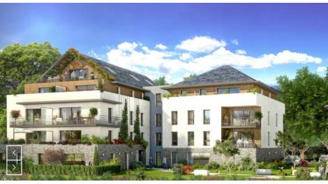 Éco habitat éco-habitat L'Ecrin à Divonne-les-Bains