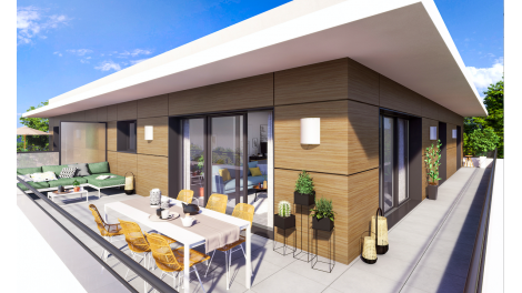 Programme immobilier loi Pinel Carre du Lac à Divonne-les-Bains