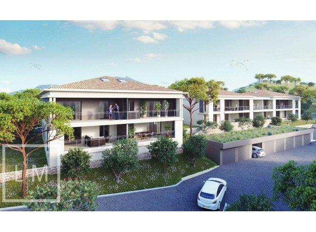 Programme immobilier neuf éco-habitat Bel Orizonte à Propriano