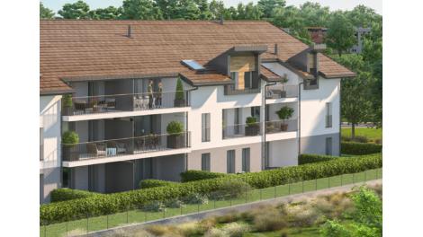 Appartement neuf Le Saint Pierre éco-habitat à Saint-Pierre-en-Faucigny