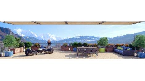 Appartement neuf Le Panoramique éco-habitat à Sallanches