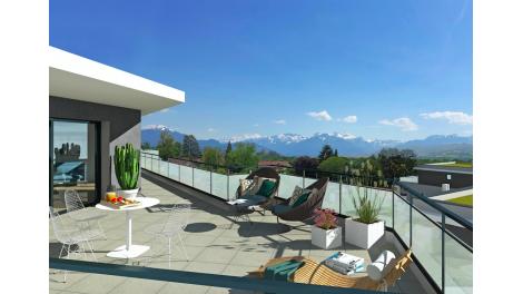 Appartement neuf Le Clos Lilas éco-habitat à Vétraz-Monthoux