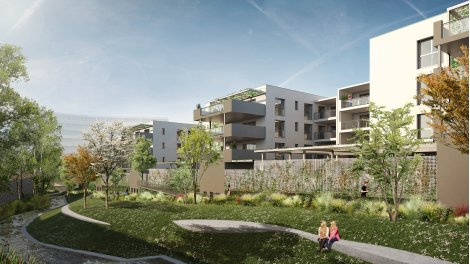 Appartement neuf Les Jardins de la Tiretaine éco-habitat à Chamalières