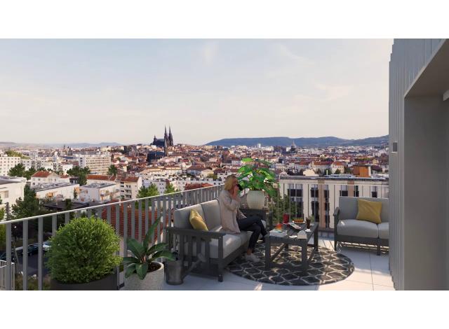Programme immobilier loi Pinel Helianthe à Clermont-Ferrand