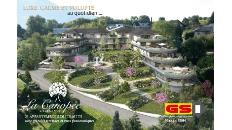Programme immobilier loi Pinel La Canopée à Aix-les-Bains