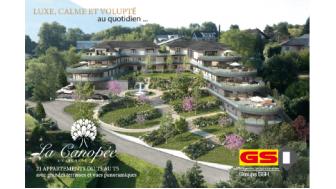 Eco habitat programme La Canopée Aix-les-Bains