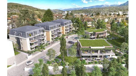 Programme immobilier loi Pinel Les Terrasses de la Michaudière à Aix-les-Bains