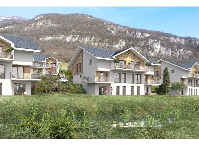 Programme immobilier loi Pinel Le Domaine Saint Saturnin à Saint-Alban-Leysse