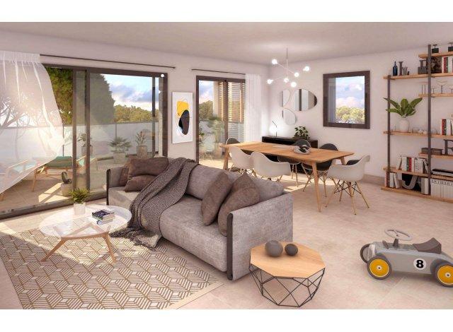 Appartements et maisons neuves Résidence Paul Valéry à Nîmes