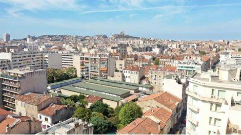 Programme immobilier loi Pinel Marseille 5ème - le Camas à Marseille 5ème
