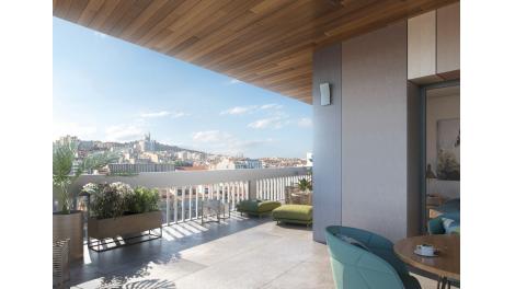Appartement neuf Prado - Castellane éco-habitat à Marseille 8ème