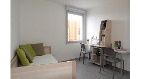 Écohabitat immobilier neuf éco-habitat Résidence Etudiants la Capelette - la Timone