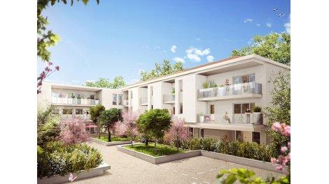 Appartement neuf Saint Barnabé éco-habitat à Marseille 12ème