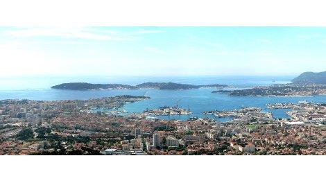 Programme immobilier loi Pinel Toulon - Mont Faron à Toulon