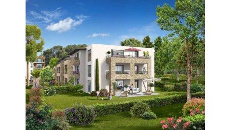 Écohabitat immobilier neuf éco-habitat Ventabren - le Pechou
