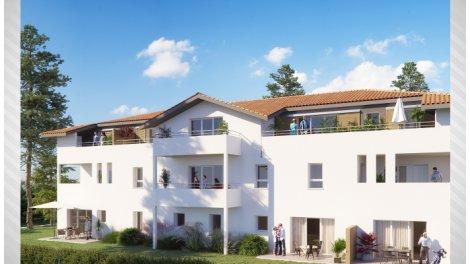Programme immobilier neuf Labenne Central éco-habitat à Labenne