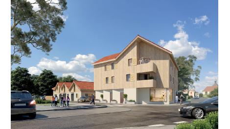 Éco habitat éco-habitat Résidence du Bourg à Parentis-en-Born