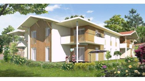 Écohabitat immobilier neuf éco-habitat Seignosse Bourg