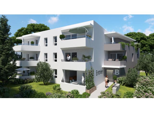 Éco habitat éco-habitat Lodge Emeraude à Montpellier