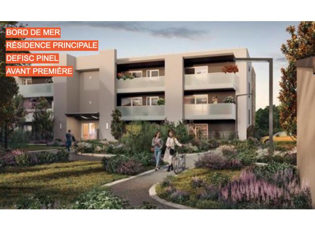 Programme immobilier loi Pinel Douceur Marine à Serignan