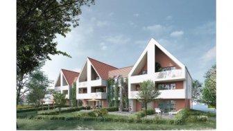 """Eco habitat programme Résidence """"entre Vignes et Château"""" Osthoffen"""