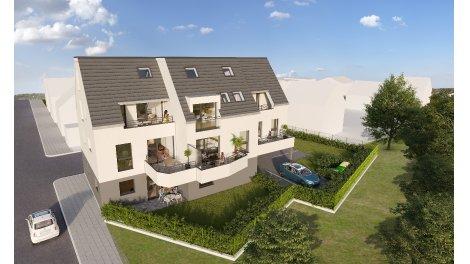 """Programme immobilier loi Pinel Résidence """"la Villa du Parc"""" à Lingolsheim à Lingolsheim"""