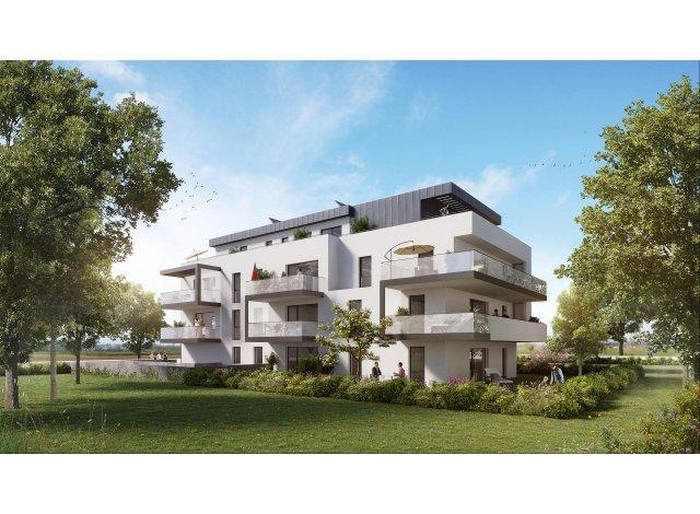 """Programme immobilier loi Pinel Résidence """"l'Exclusif"""" à Mittelhausbergen"""