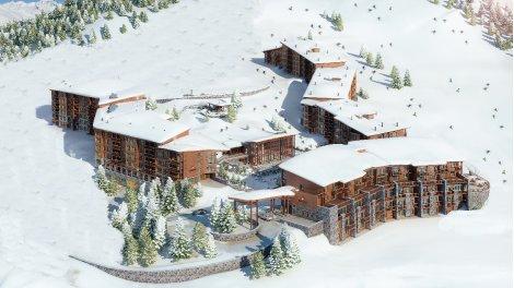 Appartement neuf Résidence Edenarc - Arc 1800 éco-habitat à Bourg-Saint-Maurice