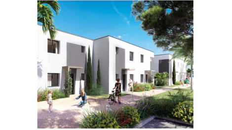 Programme immobilier loi Pinel Les 5 Jardins - Serignan / Valras-Plage à Serignan