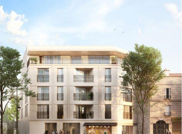 Programme immobilier neuf Les 2 Elegantes à Saint-Maur-des-Fossés