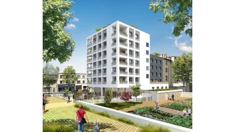 Programme immobilier loi Pinel Carre Fontenay à Lyon 7ème
