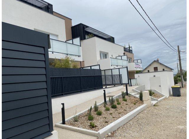 Programme immobilier neuf éco-habitat Le Mont de Corcelles à Dijon