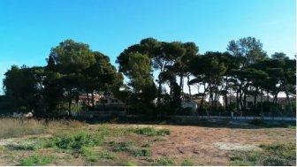 Terrain constructible à Hyeres-Plage