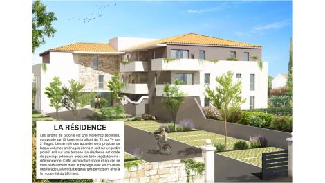 Programme immobilier loi Pinel Les Jardins de Sidonie à Frontignan