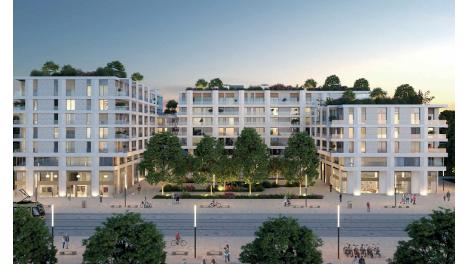 Immobilier neuf éco-habitat Faubourg 56 - Cité Créative à Montpellier