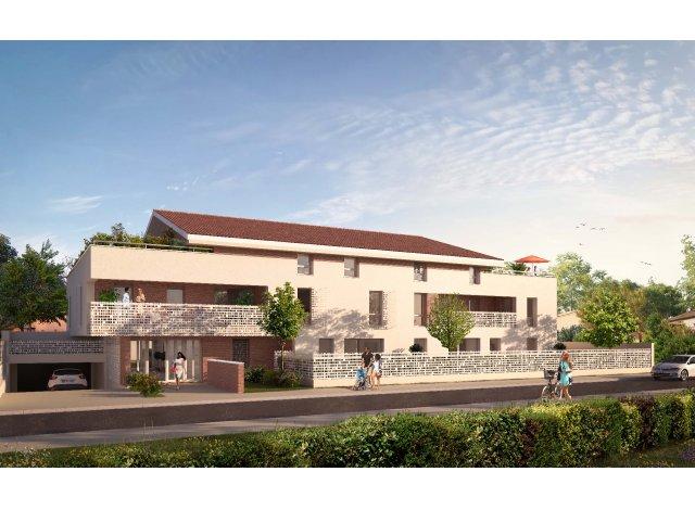 Programme immobilier loi Pinel Residence Cote Est à Toulouse