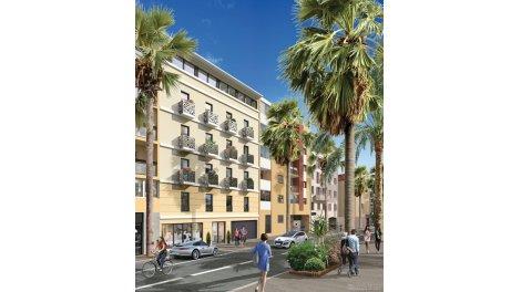 Programme immobilier loi Pinel Le Carre d'Azur à Hyères