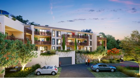 Programme immobilier loi Pinel Les Jardins d'Elia à Pierrefeu-du-Var