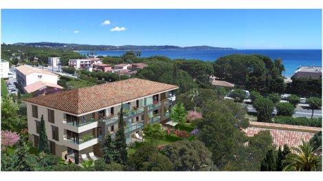 Écohabitat immobilier neuf éco-habitat Cavalaire-sur-Mer Villa Kelly