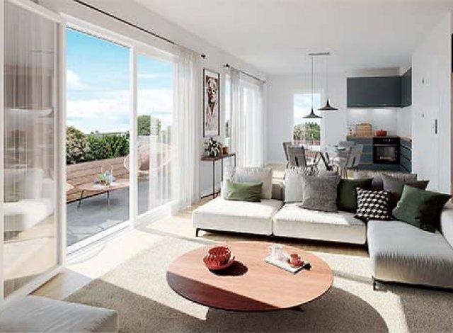Programme immobilier loi Pinel Villa Céleste à Angers