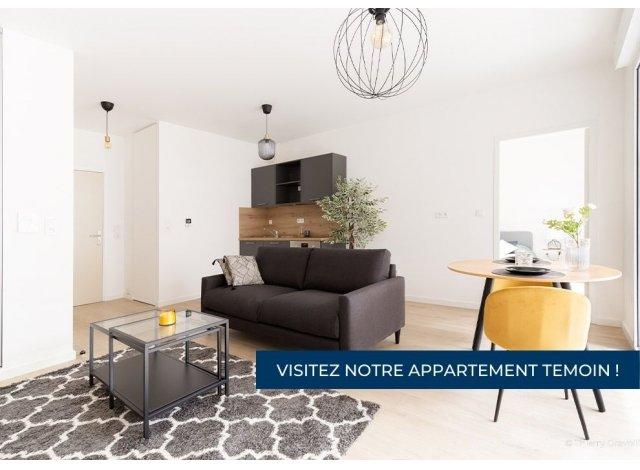 Programme immobilier loi Pinel Sevre et Confluence à Nantes
