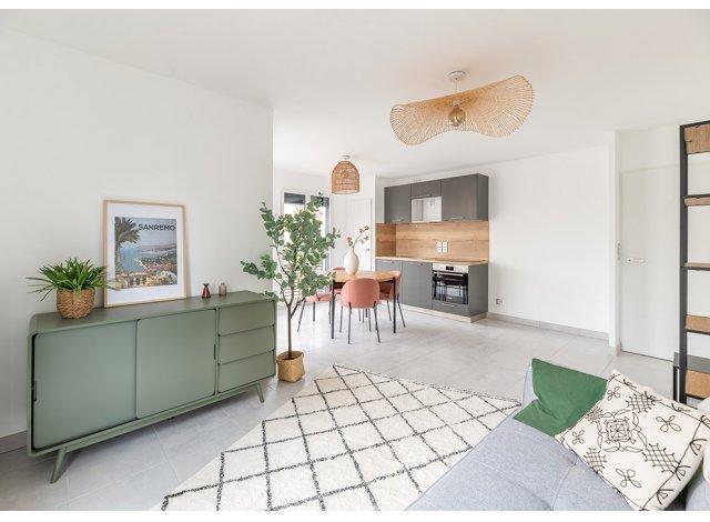 Programme immobilier loi Pinel Grey Cedar à Lyon 8ème