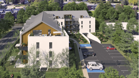 Programme immobilier loi Pinel Mont-Saint-Aignan Village à Mont-Saint-Aignan