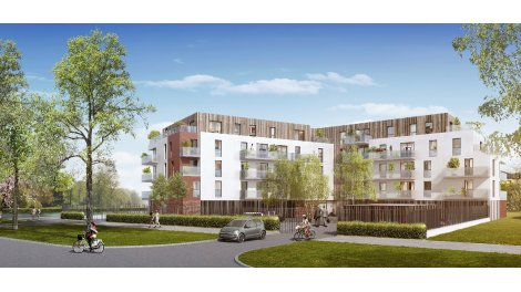 Appartement neuf Lysea investissement loi Pinel à Armentières