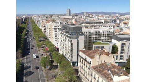 Programme immobilier neuf éco-habitat Marseille 8ème à Marseille 8ème