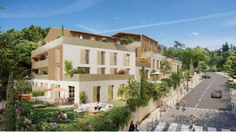 Programme immobilier neuf éco-habitat Aix Pigonnet à Aix-en-Provence