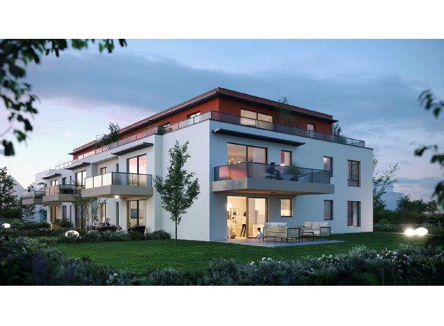 Programme immobilier neuf éco-habitat La Villa Amelia à Truchtersheim
