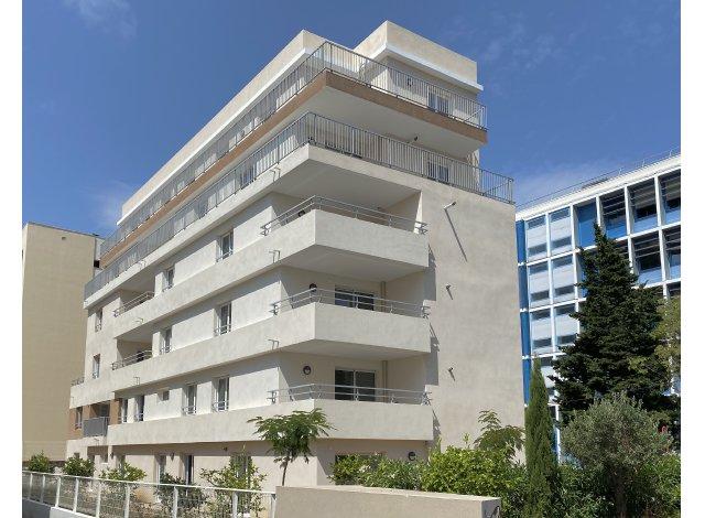 Programme immobilier loi Pinel Villa Helena à Antibes